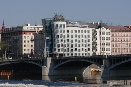 Прага- танцующий дом